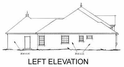 Rear Elevation Plan: 11-206
