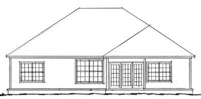 Rear Elevation Plan: 11-210