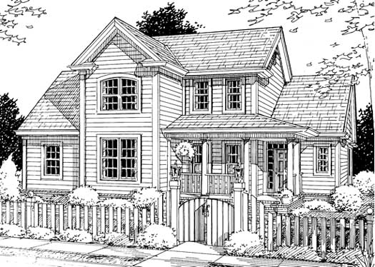Traditional Style House Plans Plan: 11-212