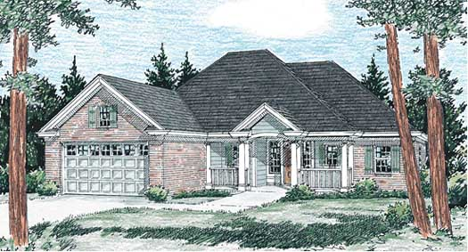 Traditional Style House Plans Plan: 11-219
