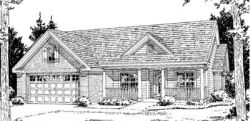 Ranch Style House Plans Plan: 11-222
