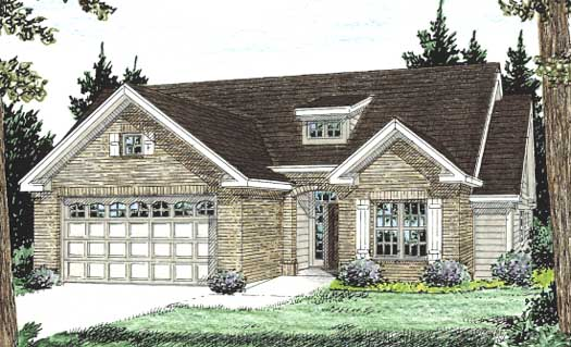 Traditional Style Home Design Plan: 11-223