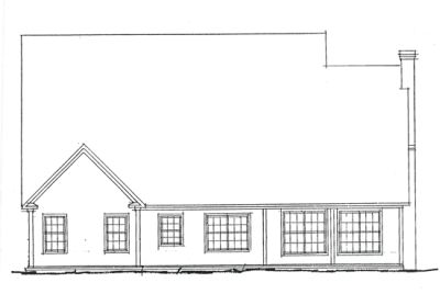 Rear Elevation Plan: 11-224