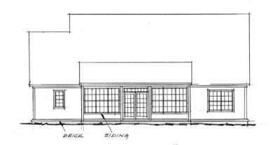 Rear Elevation Plan: 11-225