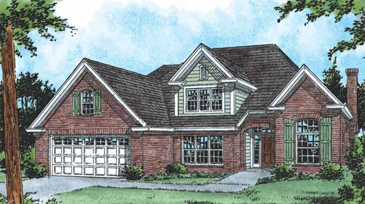 Traditional Style Floor Plans Plan: 11-226