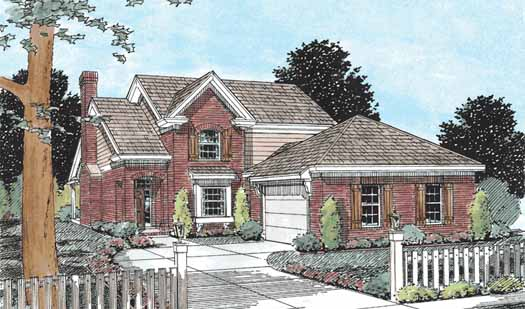 Traditional Style House Plans 11-229