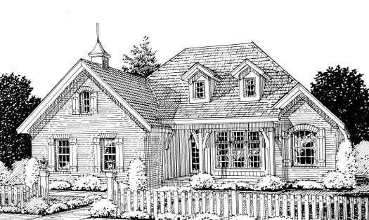 Traditional Style Floor Plans Plan: 11-231