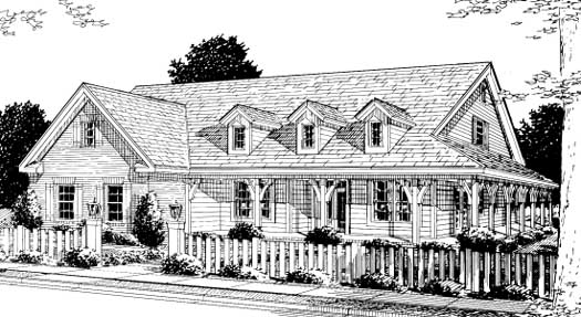 Farm Style Floor Plans Plan: 11-232