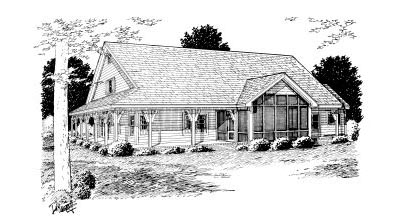 Rear Elevation Plan: 11-232