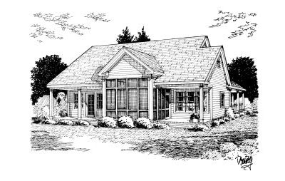 Rear Elevation Plan: 11-233