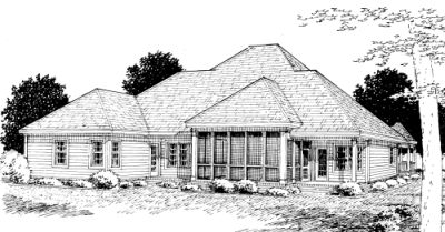 Rear Elevation Plan: 11-236