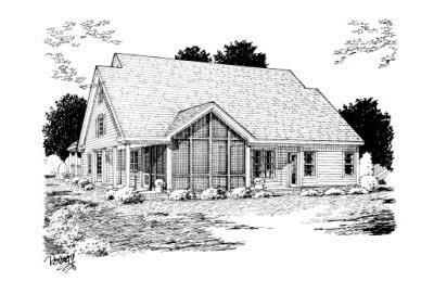 Rear Elevation Plan: 11-237