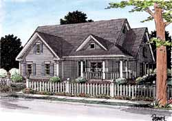 Country Style House Plans Plan: 11-237