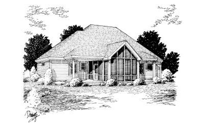 Rear Elevation Plan: 11-238