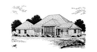 Rear Elevation Plan: 11-240