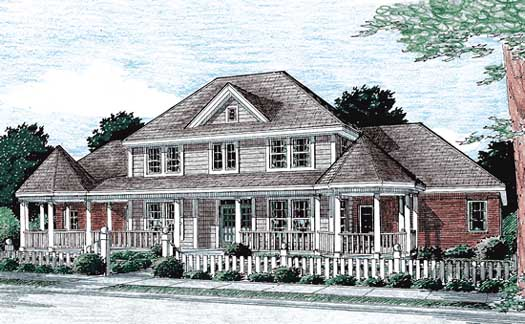 Farm Style Floor Plans Plan: 11-246