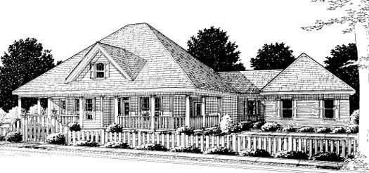 Country Style House Plans Plan: 11-247