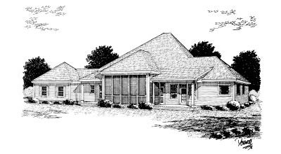 Rear Elevation Plan: 11-247