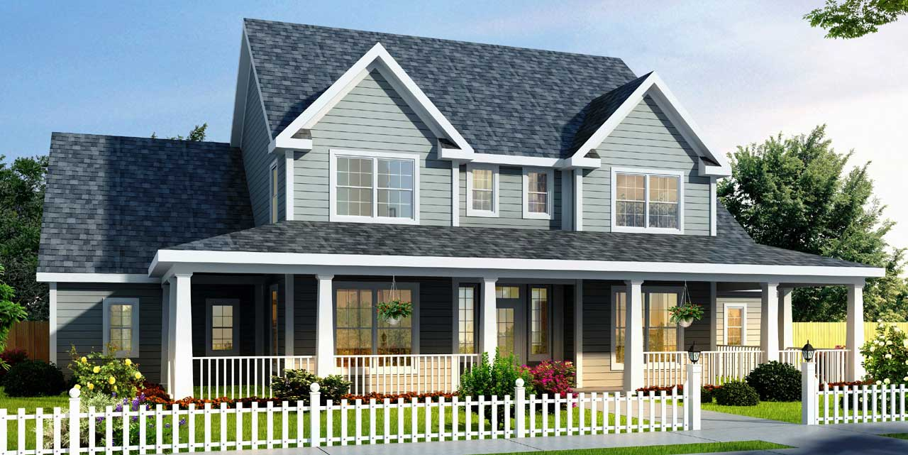 Farm Style House Plans Plan: 11-251