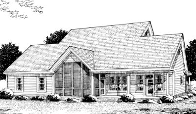 Rear Elevation Plan: 11-251