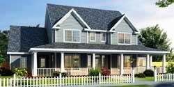 Farm Style Home Design Plan: 11-251