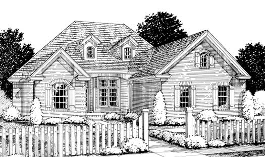 Traditional Style Floor Plans Plan: 11-252