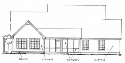 Rear Elevation Plan: 11-255