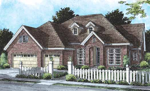 Traditional Style Floor Plans Plan: 11-256