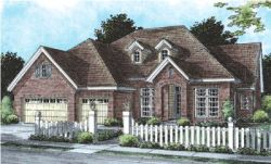 Traditional Style House Plans Plan: 11-256
