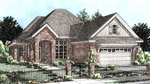 Traditional Style Floor Plans Plan: 11-257