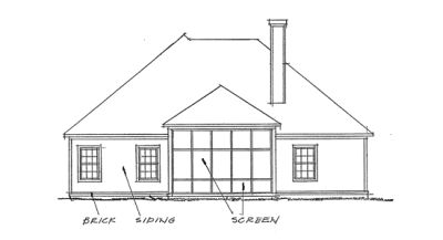 Rear Elevations Plan:11-258