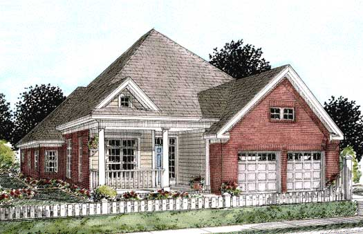 Traditional Style House Plans Plan: 11-260