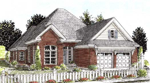 Traditional Style Home Design Plan: 11-261
