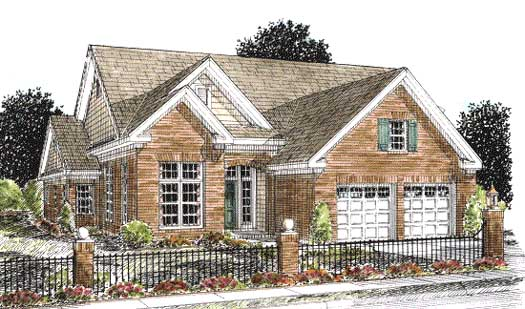 Traditional Style House Plans 11-262