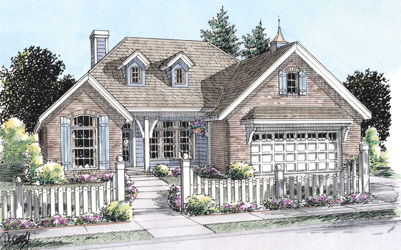 Traditional Style House Plans Plan: 11-263