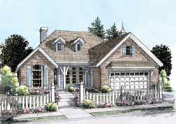 Traditional Style Floor Plans Plan: 11-263