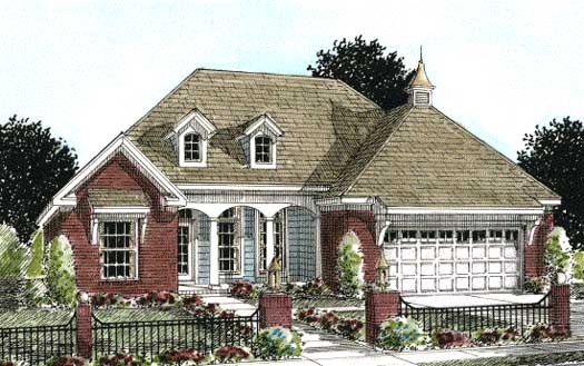 Traditional Style Floor Plans Plan: 11-264