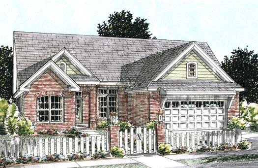 Traditional Style House Plans 11-265