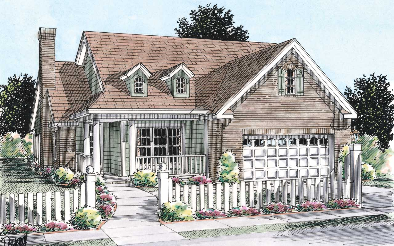 Traditional Style House Plans Plan: 11-266