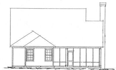 Rear Elevations Plan:11-266