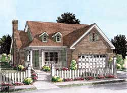 Traditional Style Floor Plans Plan: 11-266