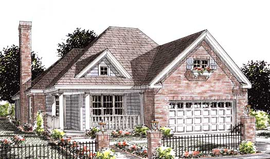 Traditional Style Floor Plans Plan: 11-267