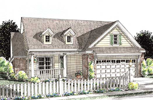 Traditional Style House Plans Plan: 11-270