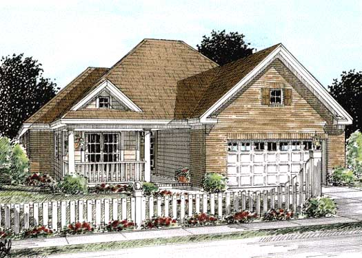 Traditional Style Home Design Plan: 11-271