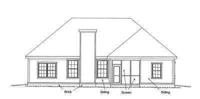 Rear Elevation Plan: 11-273
