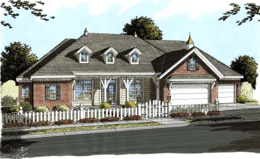 Ranch Style House Plans Plan: 11-276