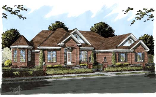 Traditional Style Floor Plans 11-281