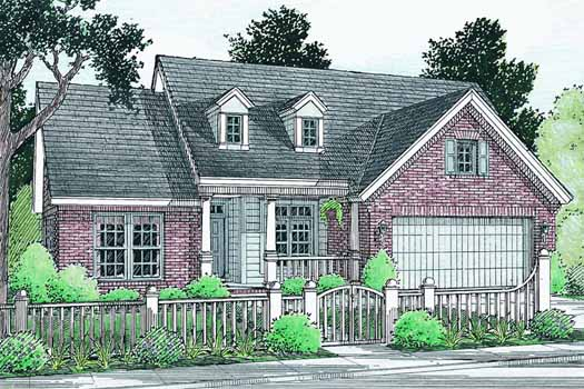 Traditional Style Floor Plans Plan: 11-287