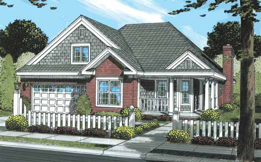 Traditional Style Floor Plans Plan: 11-289