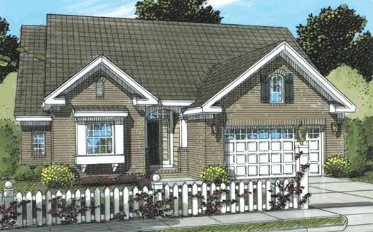Traditional Style House Plans 11-290